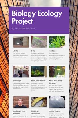 Biology Ecology Project