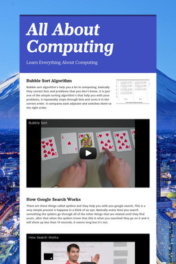 All About Computing