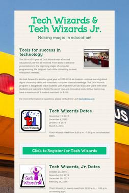 Tech Wizards & Tech Wizards Jr.