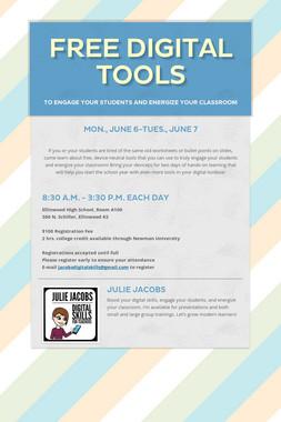Free Digital Tools