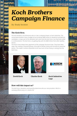 Koch Brothers Campaign Finance