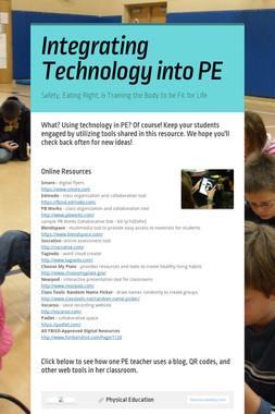 Integrating Technology into PE