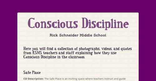 Classroom Design Quotes ~ Conscious discipline