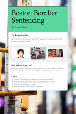 Boston Bomber Sentencing