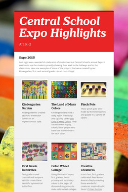 Central School Expo Highlights
