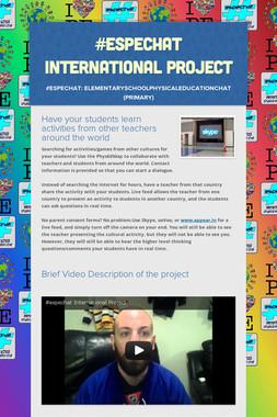 #espechat International Project