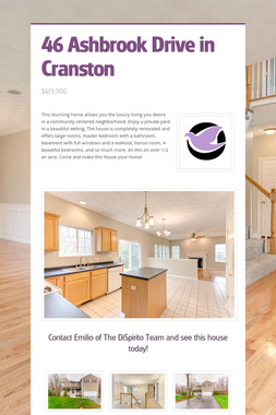 46 Ashbrook Drive in Cranston