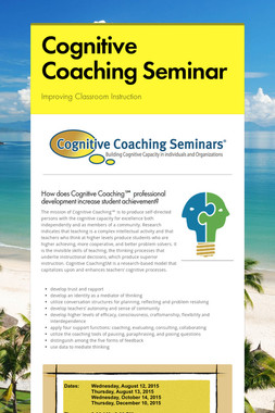 Cognitive Coaching Seminar