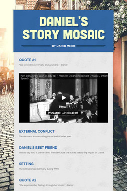 Daniel's Story Mosaic