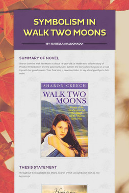 Symbolism In Walk Two Moons