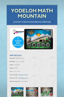 YodelOh Math Mountain