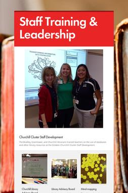 Staff Training & Leadership