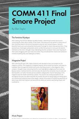 COMM 411 Final Smore Project