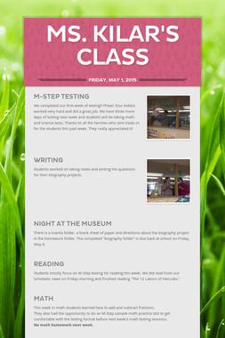 Ms. Kilar's Class