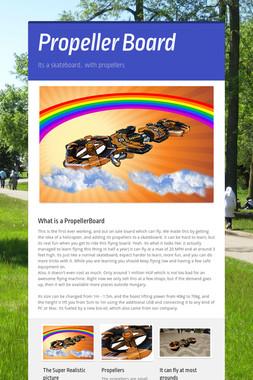 Propeller Board