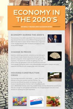 Economy in the 2000's