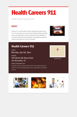 Health Careers 911