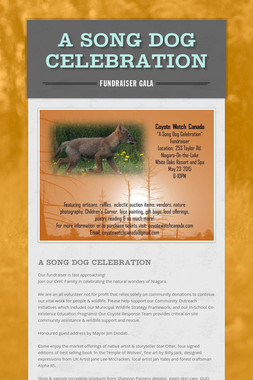 A Song Dog Celebration