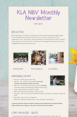 KLA NBV Monthly Newsletter