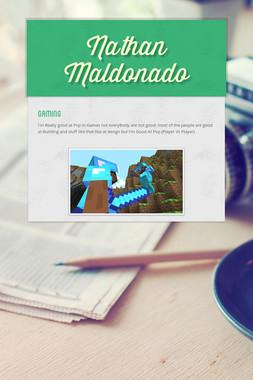 Nathan Maldonado