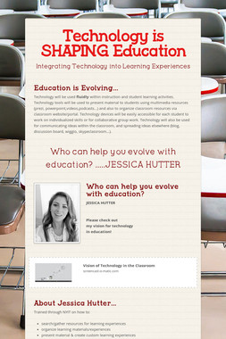 Technology is SHAPING Education