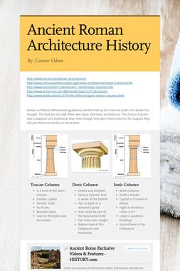 Ancient Roman Architecture History