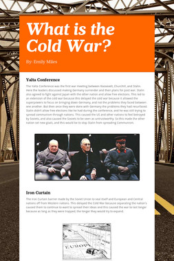 What is the Cold War?