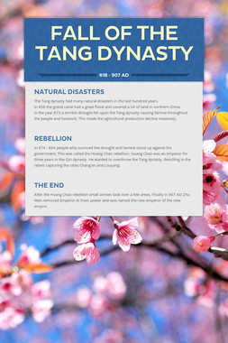 Fall of the Tang Dynasty