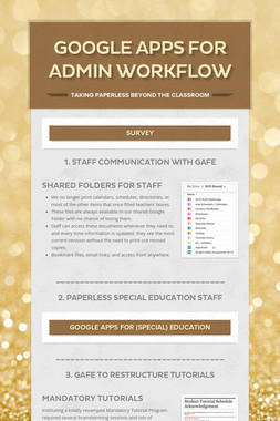 Google Apps for Admin Workflow