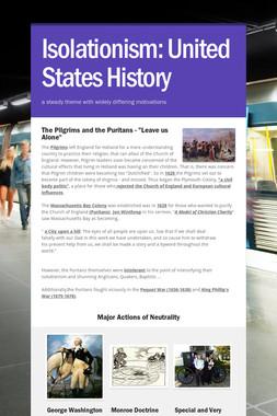 Isolationism: United States History