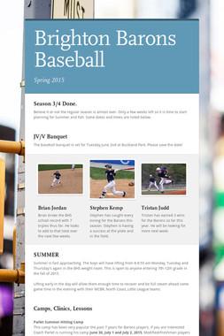 Brighton Barons Baseball