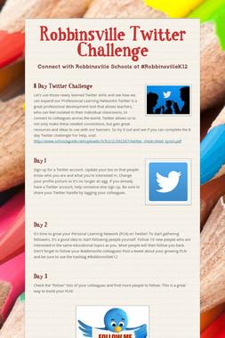 Robbinsville Twitter Challenge