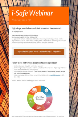 i-Safe Webinar