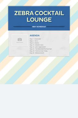 Zebra Cocktail Lounge