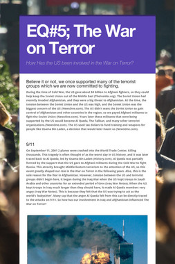 EQ#5; The War on Terror
