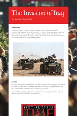 The Invasion of Iraq