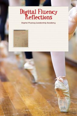 Digital Fluency Reflections