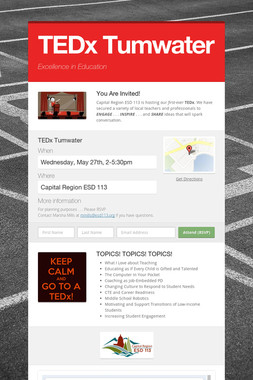 TEDx Tumwater