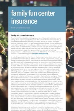 family fun center insurance