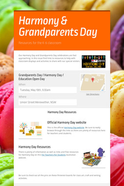 Harmony & Grandparents Day