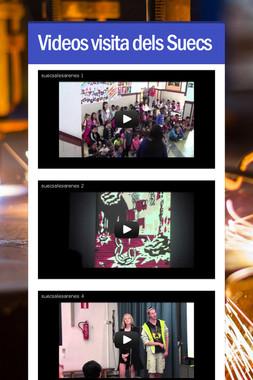 Videos visita dels Suecs
