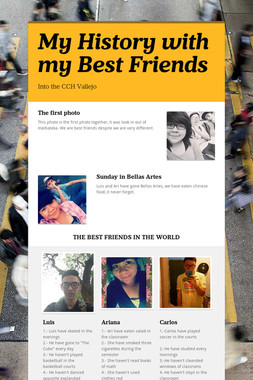My History with my Best Friends