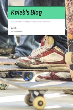 Kaleb's Blog