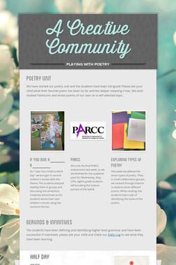 A Creative Community