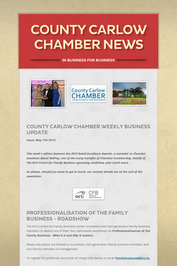 County Carlow Chamber News