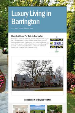Luxury Living in Barrington