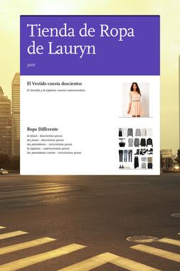 Tienda de Ropa de Lauryn