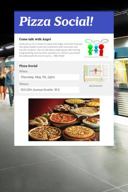 Pizza Social!