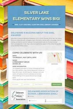 Silver Lake Elementary Wins Big!