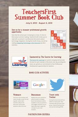 TeachersFirst Summer Book Club